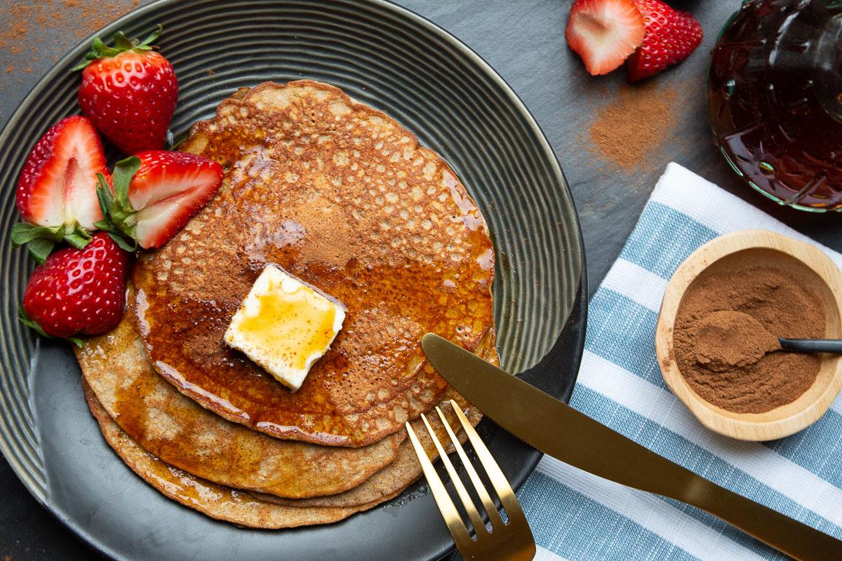 Keto Recipe: Keto Pancakes Recipe (with Cream Cheese