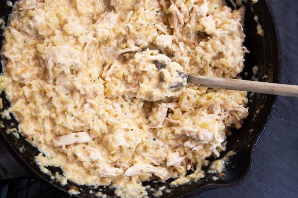 low carb keto chicken casserole
