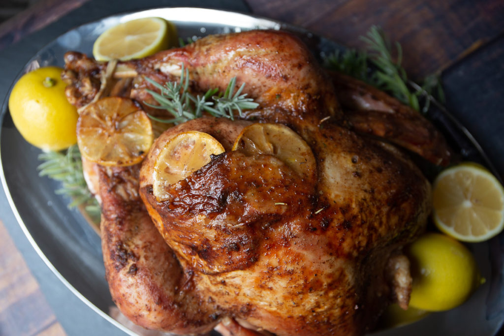 Herbs de Provence Rubbed Turkey